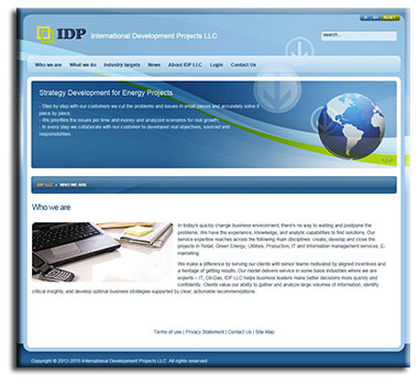 WEB site of IDP LLC